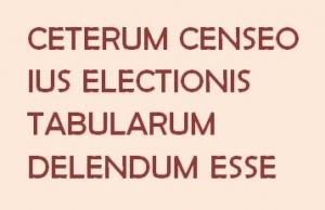 ceterum censeo